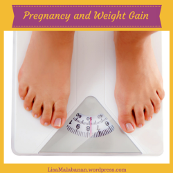 Weight Gain in Pregnancy title image